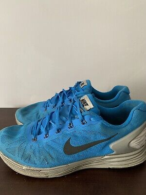 Mens Smart Blue Nike H20 Repel Lunarglide 6 Trainers/Shoes *UK Size 8*