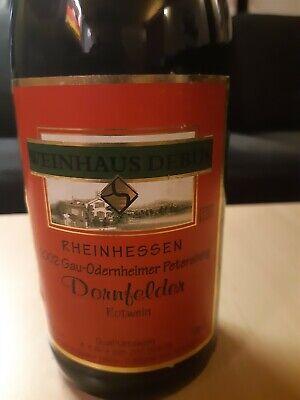 Weinhaus Debus Dornfelder Rotwein 2002 Gau-Odernheimer Petersberg