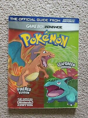 Pokemon FireRed & LeafGreen Version Official Nintendo Player's Guide