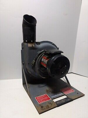 Cincinnati 500s Fume Master Confined Space Blower 12 Hp Motor Exhaust Fan