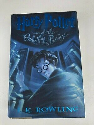 Harry Potter book 5 First Print/First Edition