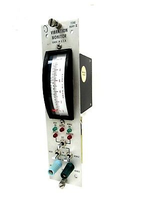 Used Bently Nevada 72870-03 Vibration Monitor 7287003 7200 Rvxy-ii