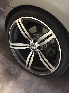 "BMW 19"" M6 replica rims"