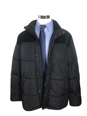 NWT Barbour Spean Men's Navy Blue Quilt Full Zip  Jacket/Coat  XL  $299 NEW