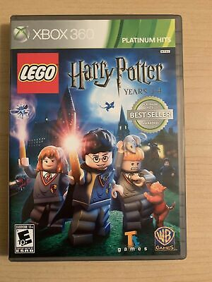 LEGO Harry Potter Years 1-4 PH Microsoft Xbox 360 VIDEO GAME DISC & CASE HOGWART
