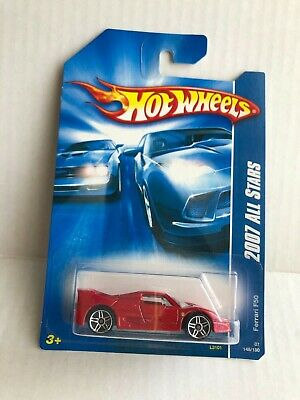 Hot Wheels Ferrari F50 Red 2007 F1BOX