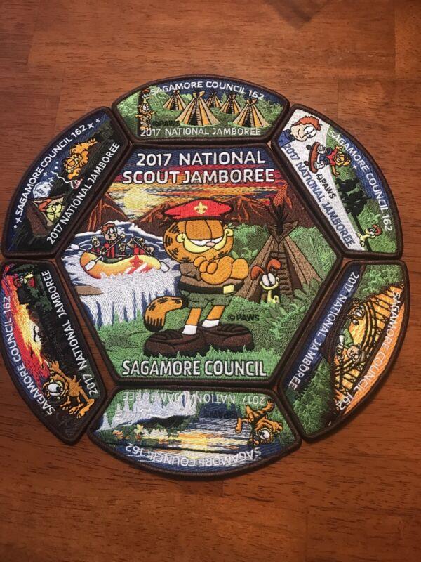 Sagamore Council 2017 National Jamboree Set - Garfield, Odie, & Jon