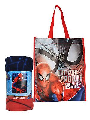 Spider-Man Fleece Throw Blanket 45