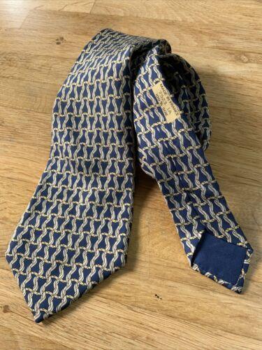 Cravate hermes soie vintage