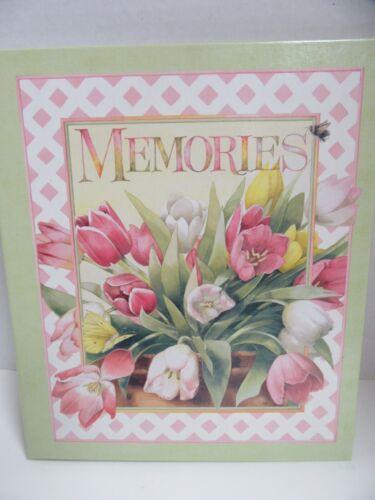 Hallmark Scrapbook Album Memories Marjolein Bastin Tulip Bouquet Pages Inside