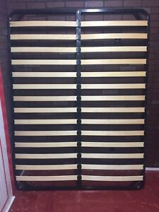 EQ3 Queen Bed Metal Frame Slats (Mattress Support only)