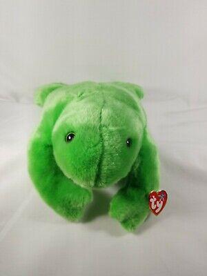 TY Beanie Buddy Legs The Frog Retired MINT
