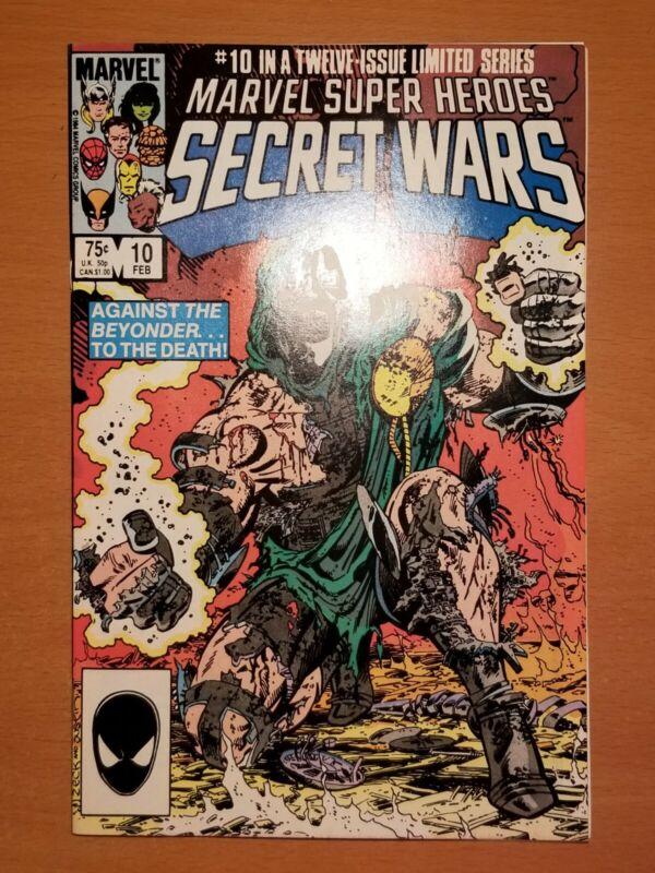 Marvel Super-heroes Secret Wars #10