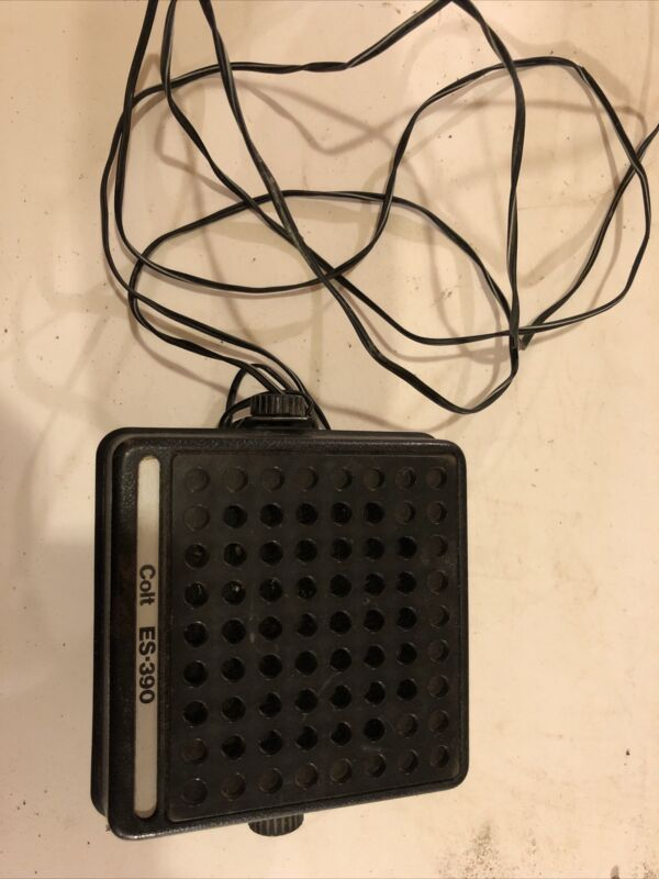 VINTAGE EXTERNAL CB TALK BACK SPEAKER Colt ES-390