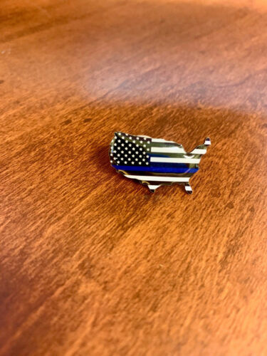 Thin Blue Line USA Pin