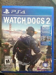 Watch Dogs 2 PS4 45$ cash only pickup only