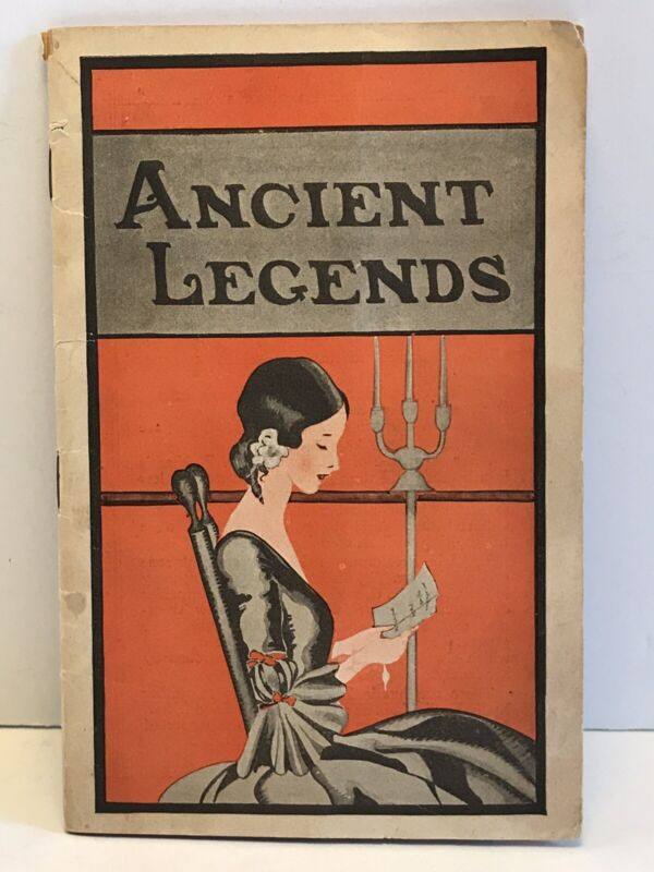 Rare Lydia E. Pinkmans Herbal Remedies Ancient Legends Book 1900s Quack Medicine