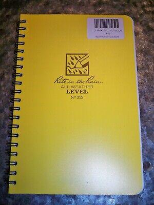 Rite In The Rain Side Spiral Bound Notebook 313 Level Pattern Waterproof Paper