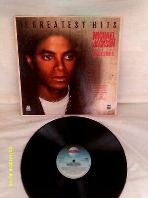 MICHAEL JACKSON + JACKSON FIVE, GREATEST HITS (MOTOWN YEARS) 1983, VG+ CONDITION comprar usado  Enviando para Brazil