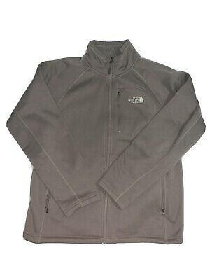 The North Face Men's Beige Fleece Jacket Size Large Excellent Condition