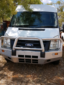 2008 ford transit diesel 6 speed camper