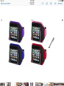 Adjustable armband holder for phone/MP3 devices