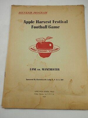 Apple Harvest Festival Fußball Spiel Lane Vs Manchester