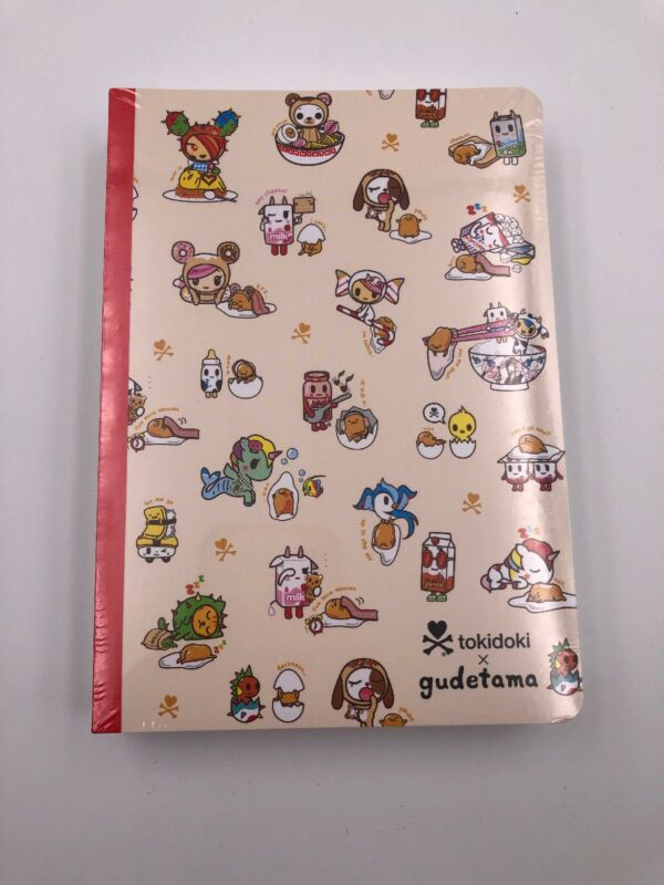 Tokidoki x Gudetama: 3 Piece Notebook Set (B3)