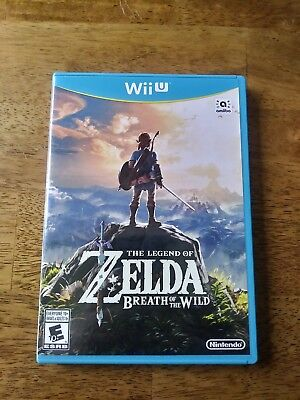 The Legend of Zelda: Breath of the Wild (Nintendo Wii U, 2017) for sale  Shipping to Canada