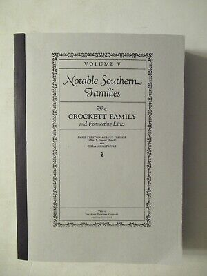 Genealogy - The Crockett Family and Connecting Lines