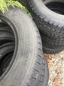 205/60r15 Michelin winter tires for sale