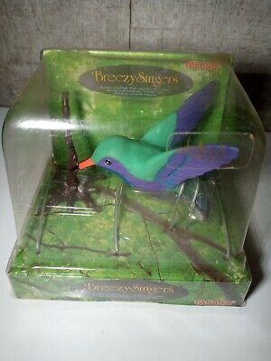 NOS BREEZY SINGERS Green Hummingbird OLD STOCK 1991 TAKARA BIRD SINGER H-1134