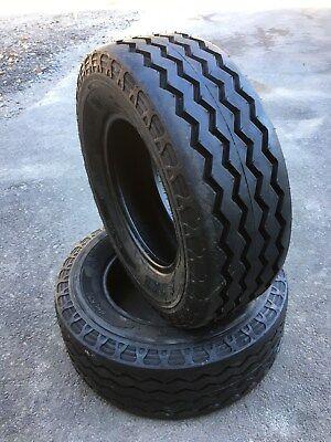 2 New Hd 11l-16 Camso Bhl 530 Backhoe Tires - F3 12 Ply Rating -11lx16 Sl