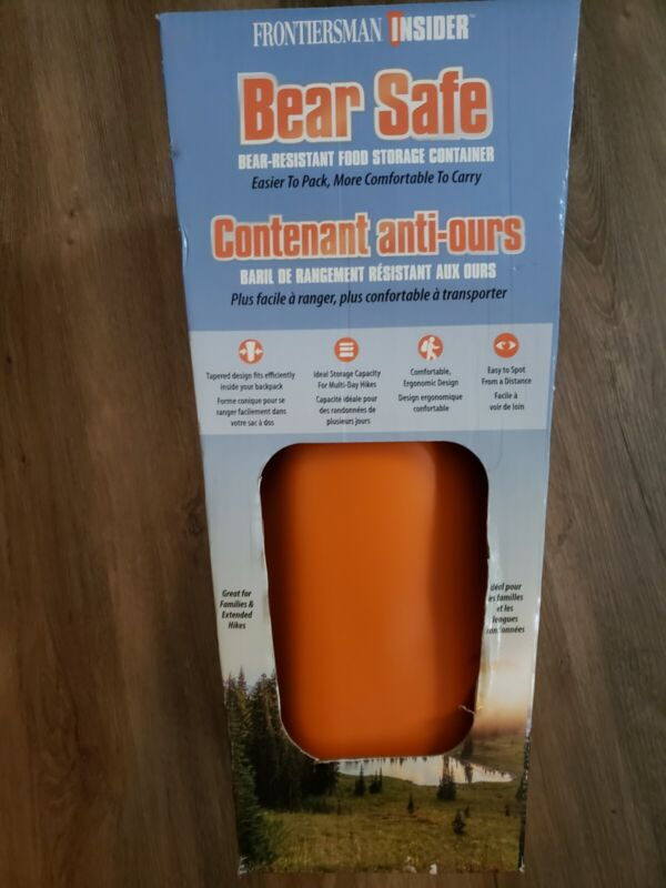Bear Safe Sabre FBS-100 Frontiersman Insider NEW IN BOX camping hiking food