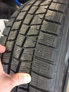 215/65r16 Dunlop snow tires like new