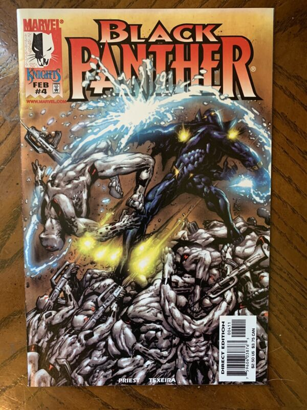 BLACK PANTHER 4 First Appearance of WHITE WOLF Falcon Winter Soldier