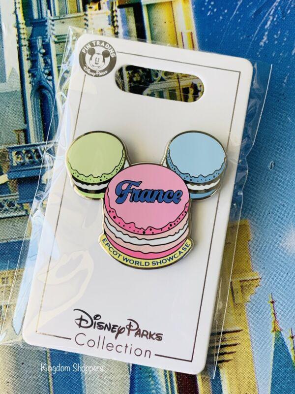 2021 Disney Parks Epcot World Showcase Pin France Macaron Mickey Mouse Head