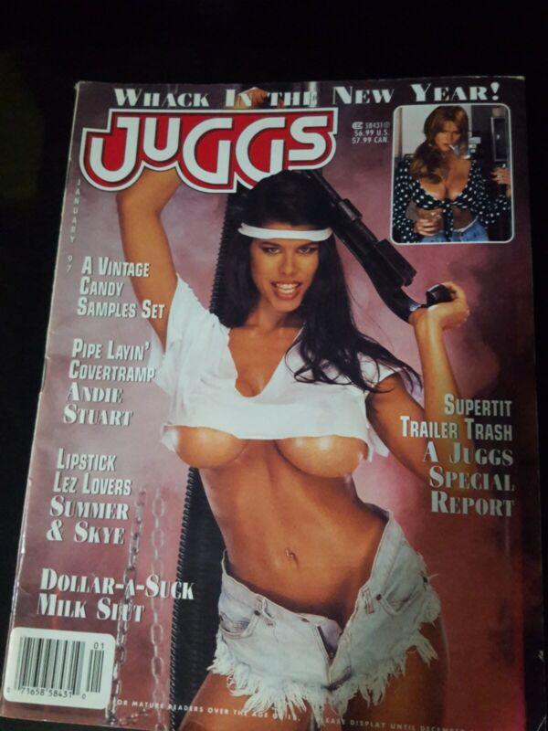 Juggs Magazine  January1997 ( Vintage )