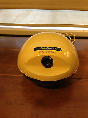 Used Vintage Boston Model #16 Electric Pencil Sharpener Egg Shape 296A