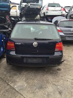 Volkswagen Golf Blue 2002 Seven Hills Blacktown Area Preview