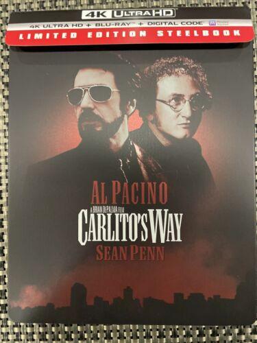 CARLITO S WAY 4K UHD BLU-RAY Bestbuy Exclusive Steelbook NO DIGITAL - $39.99