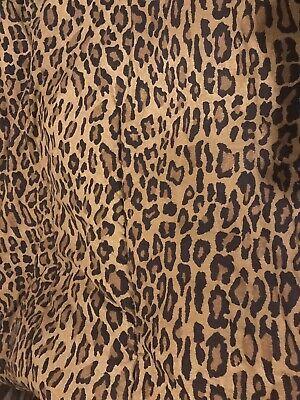 Ralph Lauren Aragon Galahad LEOPARD King Size Comforter Exotic  ()