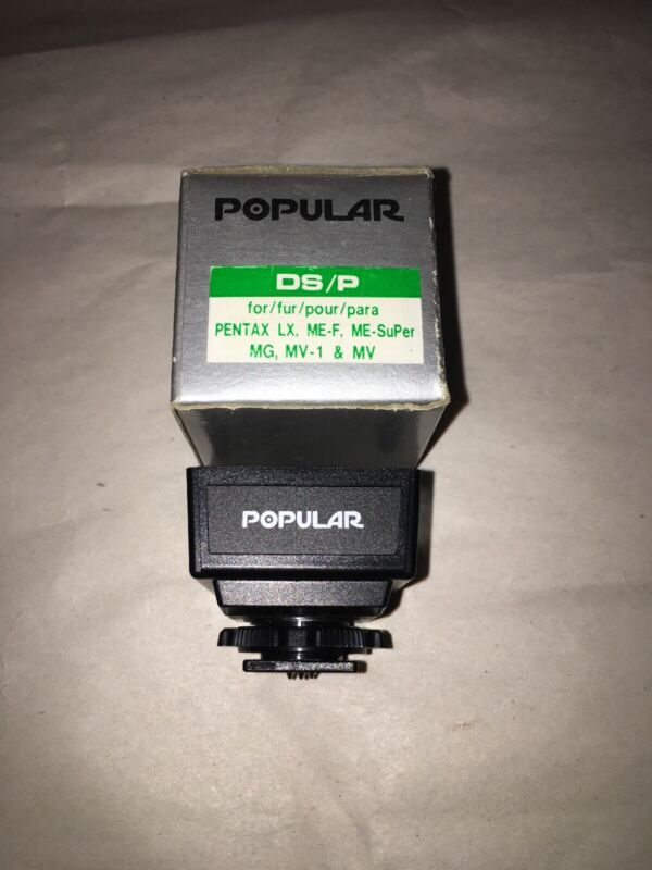 Morris Popular Dedicated Shoe DS/P For PENTAX Series Cameras New old stock