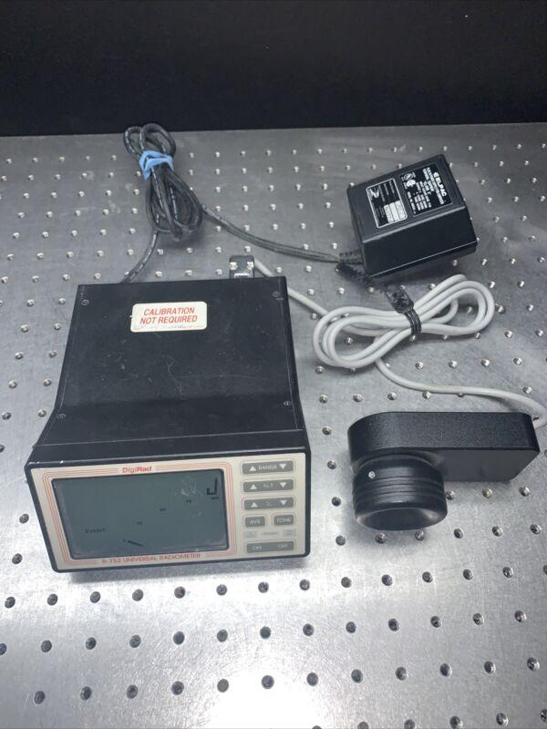 Digirad D-752 Universal Radiometer Laser Power / Energy Meter
