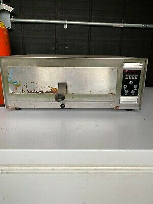 Wisco Industries Pizza Pal Plus Digital Snack Oven Stainless Steel Pizza Oven
