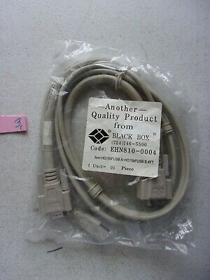 Black Box Kvm Cpu - NEW IN PKG BLACK BOX KVM CPU CABLE ENH810-0004  (122-1)
