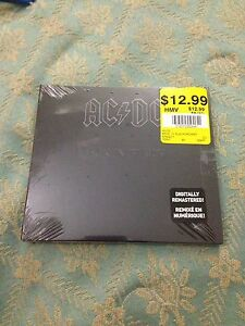 AC DC Back in Black CD Brand New Factory Sealed