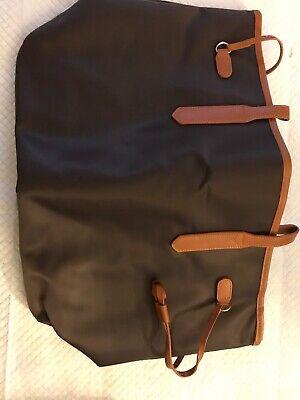 KF Baby LUJO Diaper Bag, Charcoal Brown, with kilofly Refrigerator