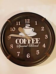 Coffee  Special Blend wall clock round 11