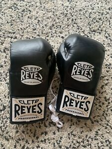 Cleto Reyes leather pro lace up boxing gloves
